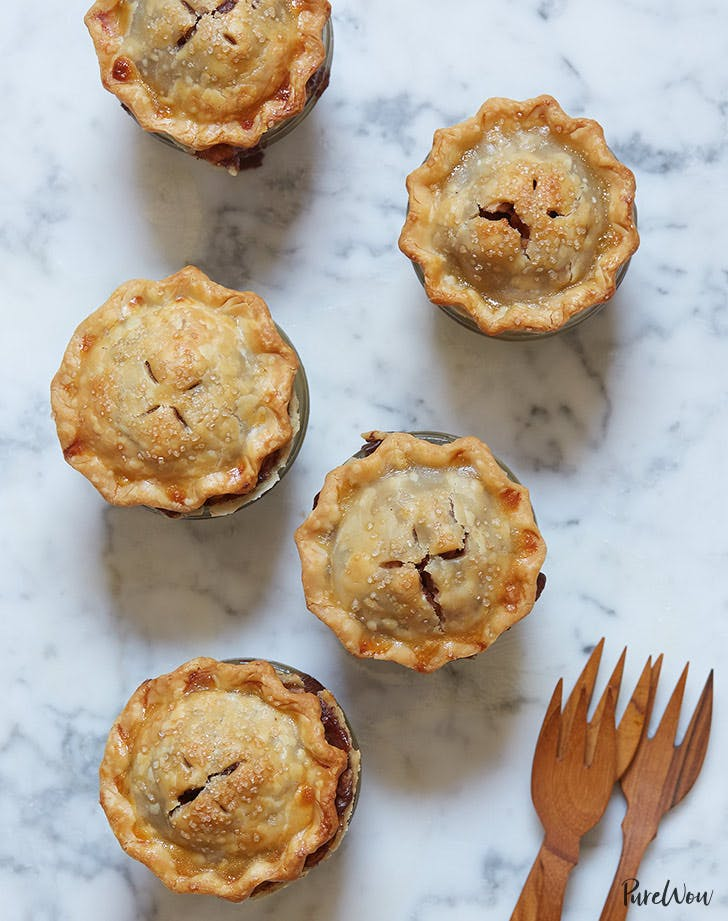 mini mason jar apple pies recipe