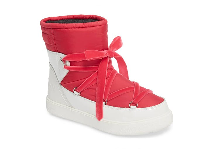 moncler pink boots