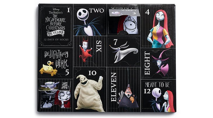 Were Swooning Over This 'Nightmare Before Christmas Sock Advent Calendar