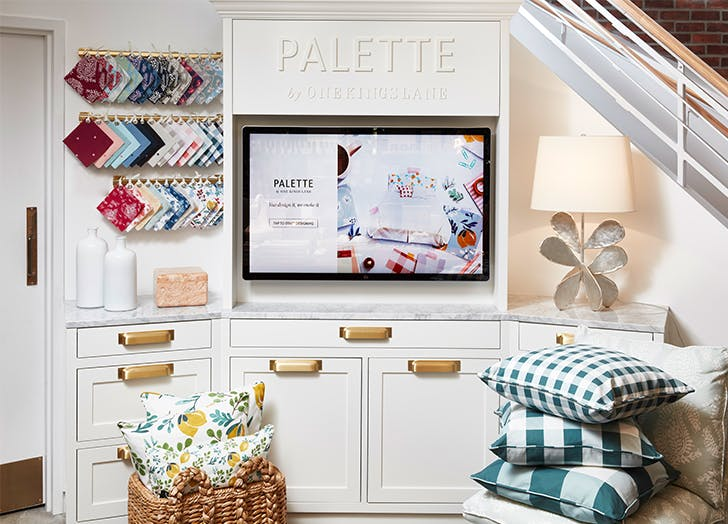 palette by one kings lane pillows