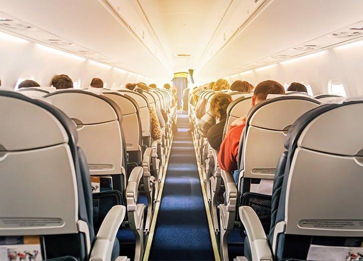 people sitting on plane