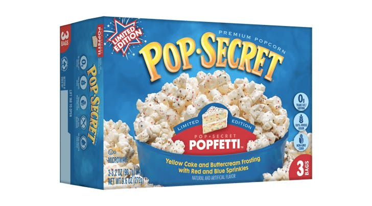 This Popcorn Tastes Just Like Funfetti Cake (& It Has Sprinkles!)