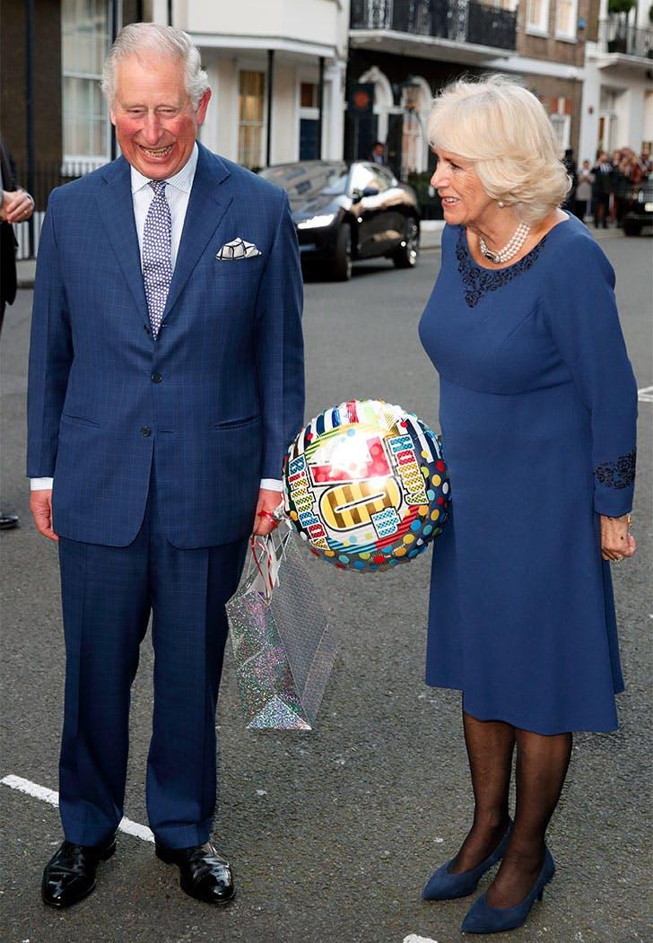 prince charles camilla balloon