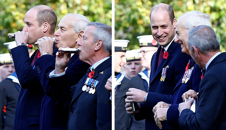 Bottoms Up! Prince William Accidentally Did a Jägerbomb in Public