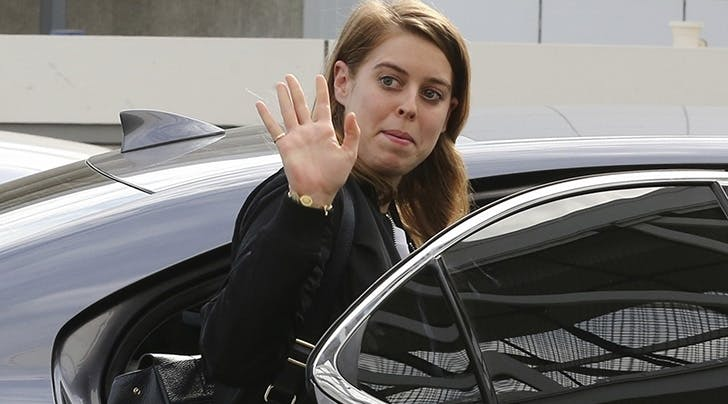 Even Princess Beatrice Uses Uber & This New Pic Is Proof