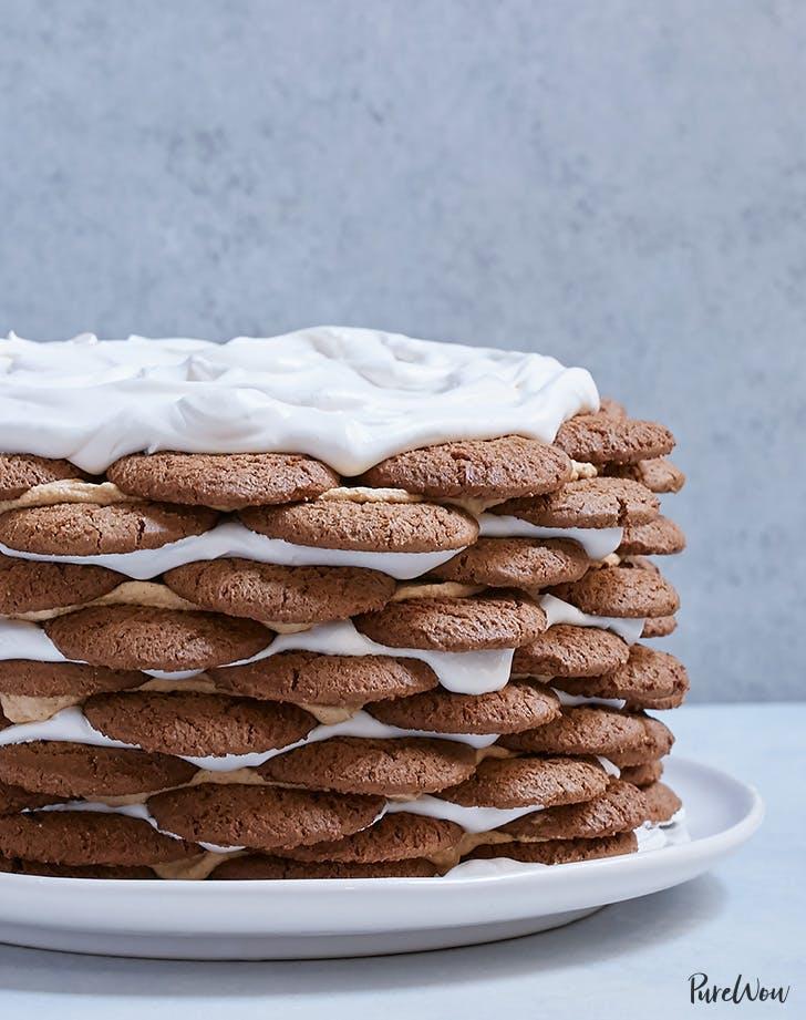 pumpkin spice icebox cake recipe