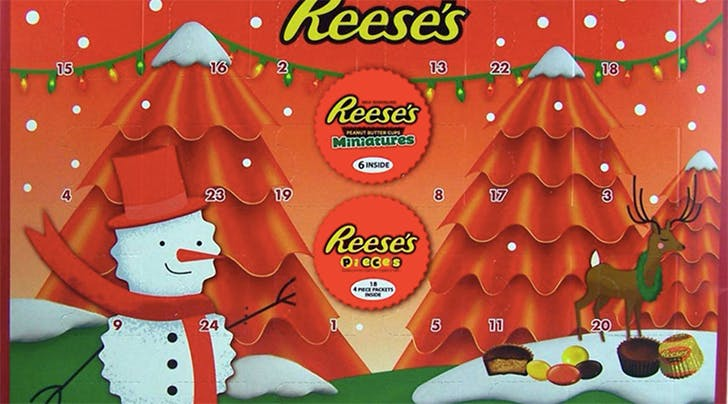 Reeses Advent Calendars Are Now Available on Amazon & You Had Us at Chocolate