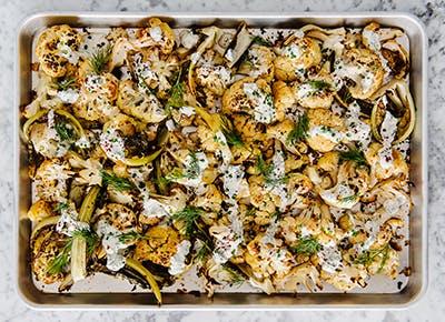 roasted cauliflower tahini ranch recipe 290