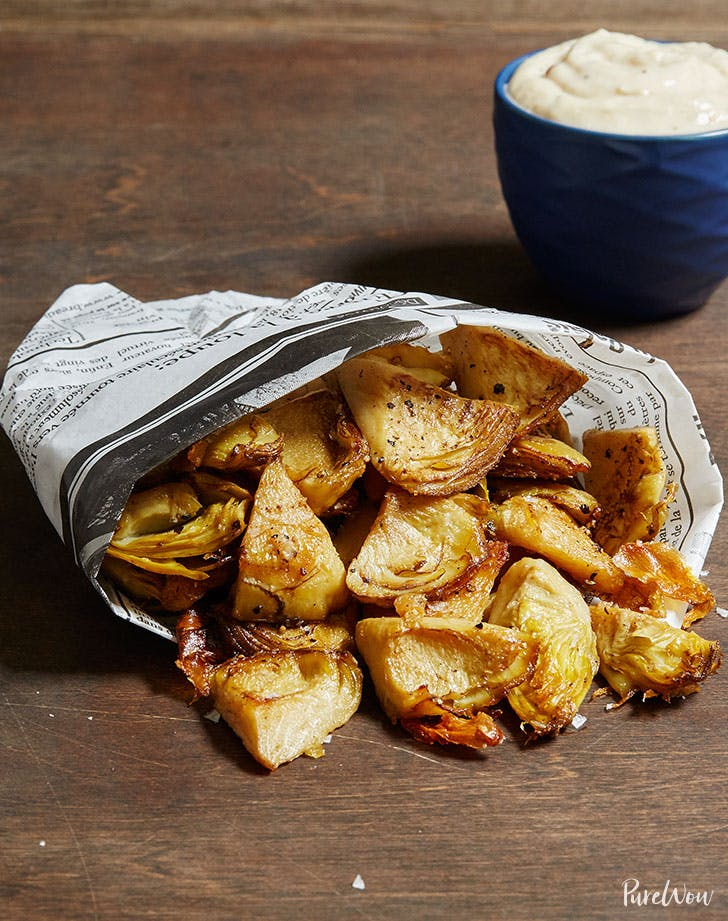 Crispy Roasted Artichokes