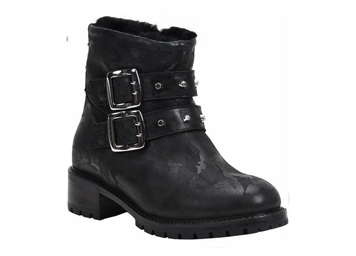 ross and snow shearling lined bootie