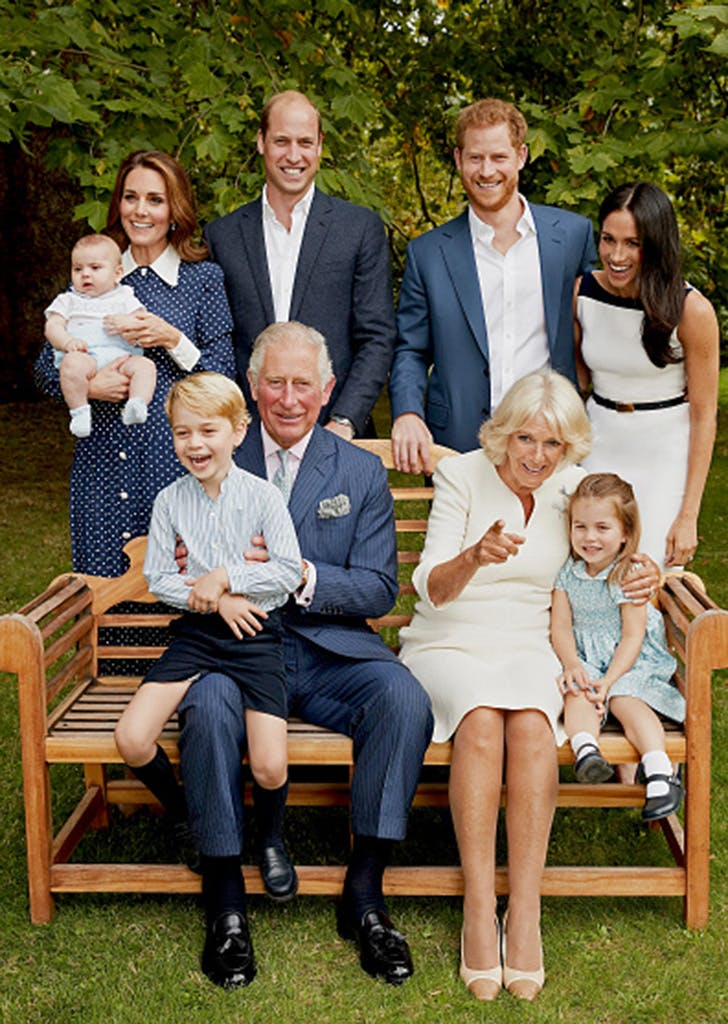 royal family portrait prince charles 70 birthday