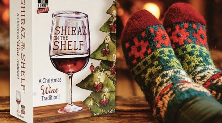 'Shiraz on the Shelf' Is the New Holiday Tradition for When You're Tired of Staring at a Creepy Elf