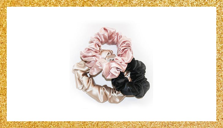 slipsilk scrunchies