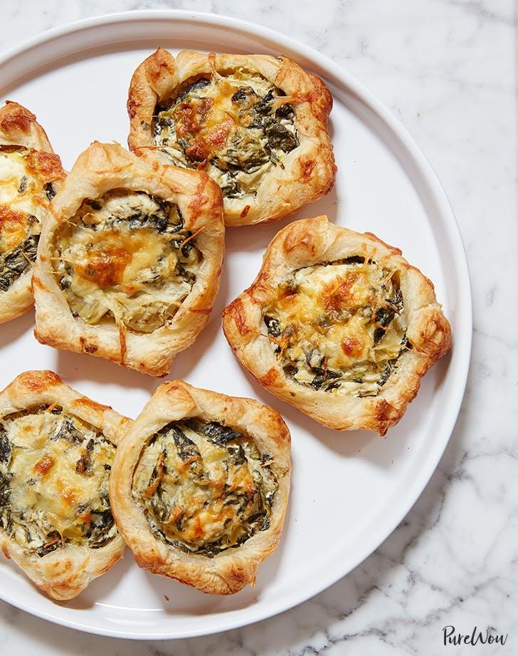 spinach artichoke squares recipe