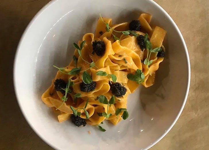 stone crab pasta ariete
