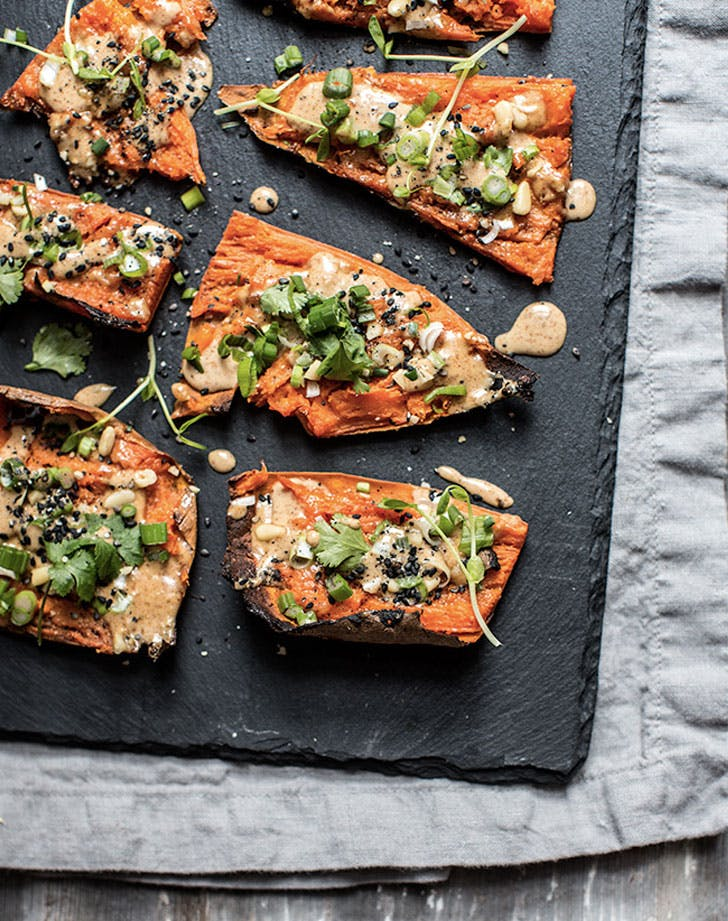 thai sweet potato skins recipe