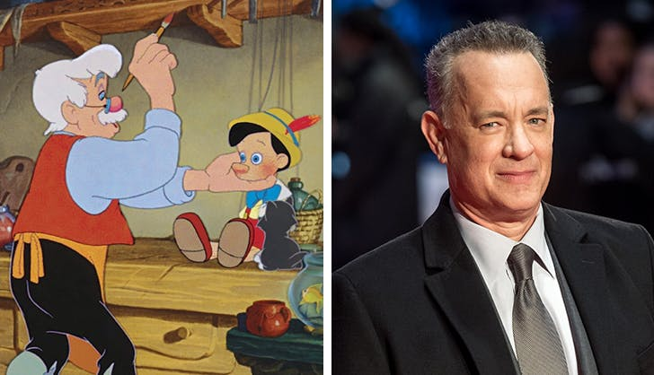 Pinocchi-Oh Em Gee! Tom Hanks Is in Early Talks to Play Geppetto for the Live-Action Disney Remake