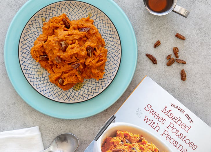 trader joes mashed sweet potatoes with pecans