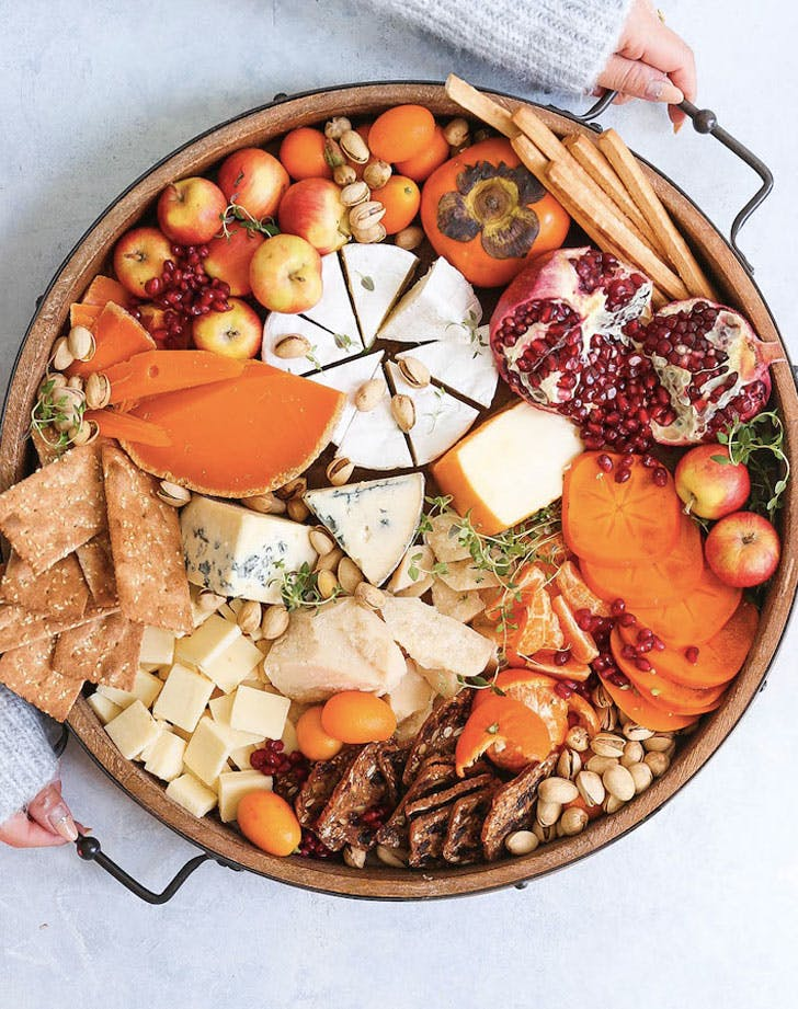 winter cheese board recipe