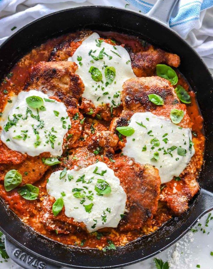 30 minute chicken parmesan recipe
