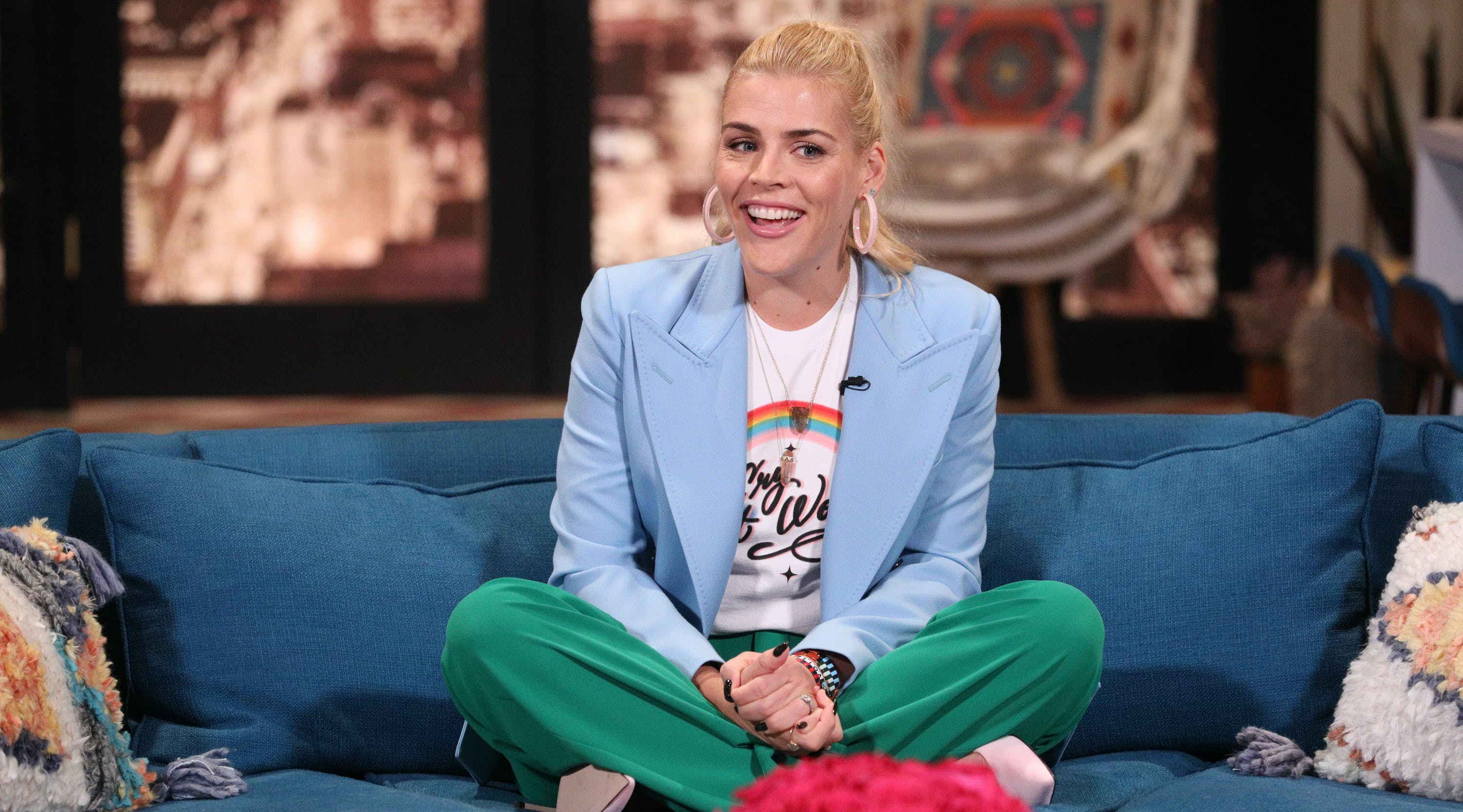 Here's How Busy Philipps Keeps Her Kids Entertained During Holiday Travel