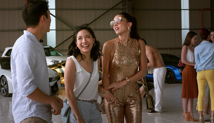 Crazy Rich Asians airport scene