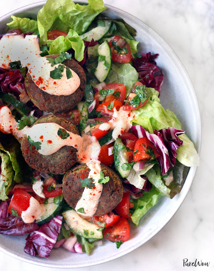 Falafel Salad recipe