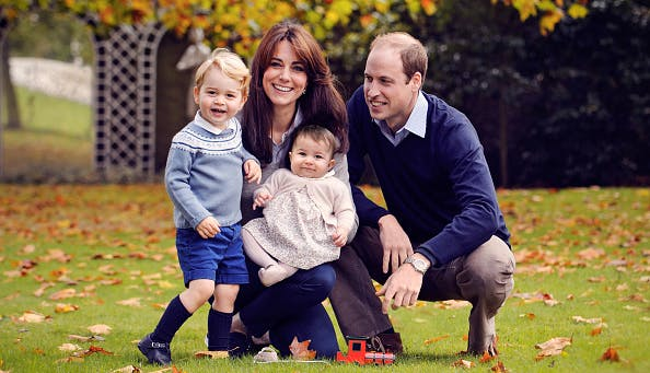 Kate Middleton and Prince William family