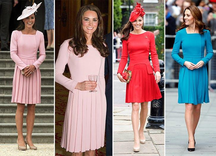 Kate Middleton in Emilia Wickstead dresses
