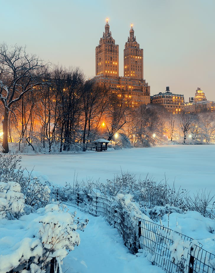 New York  New York in winter