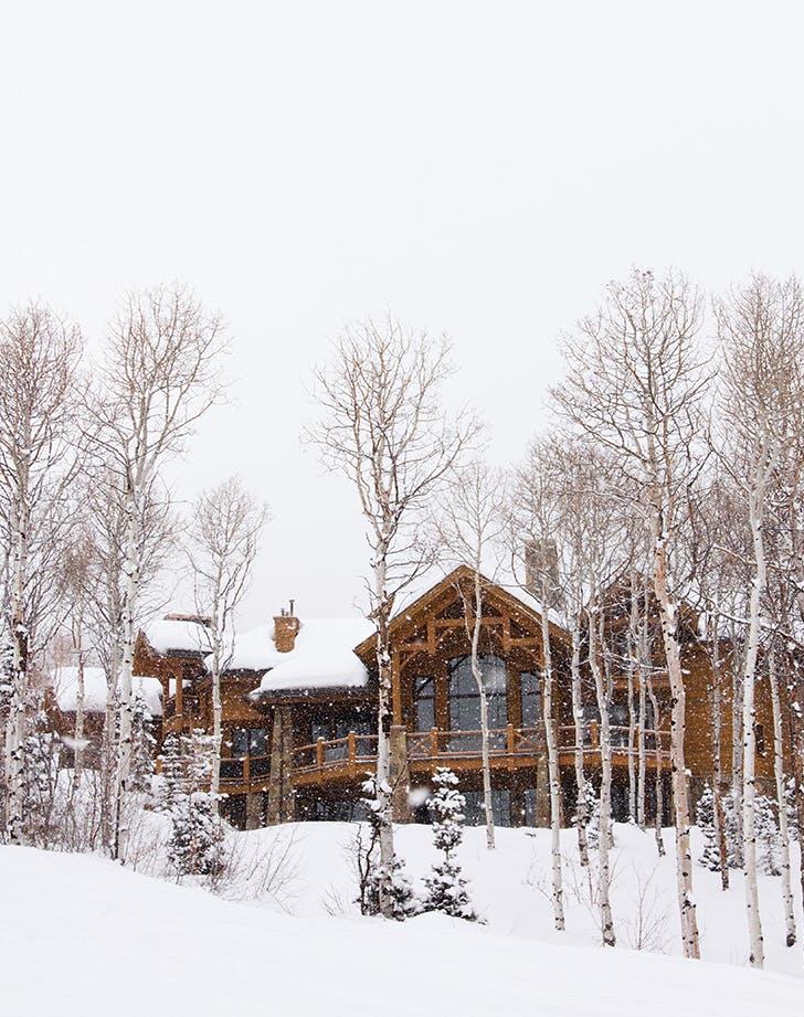 Park City  Utah in winter
