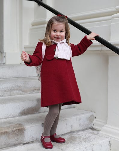 Princess Charlotte Birthday Portrait