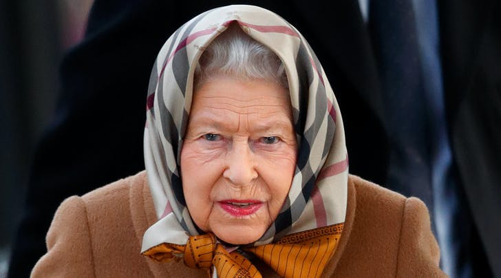Here's Where You Can Find Queen Elizabeth's Chic 'I'm Riding the Train' Scarf