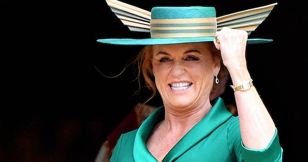 Sarah Ferguson's Holiday Card Featured Pics from Princess Eugenie's Wedding an Epic Fergie-ism