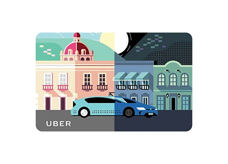 Uber Gift Card gift for traveler1