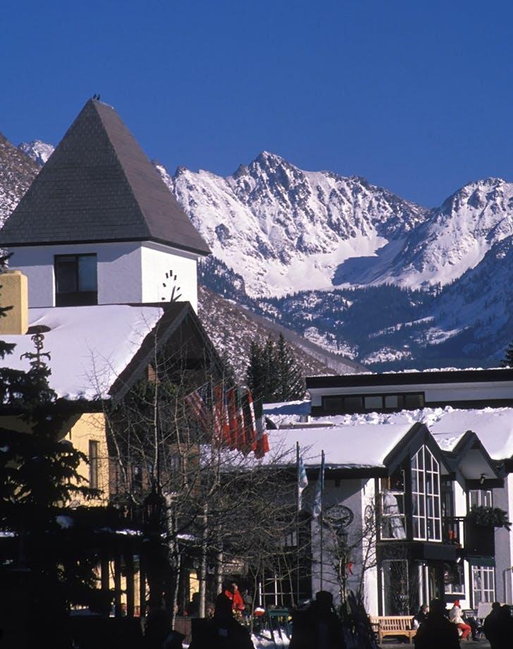 Vail  Colorado in winter