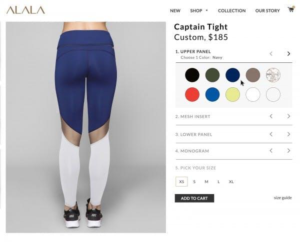 alala custom tights