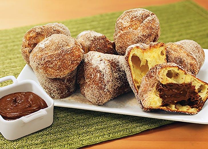aldi churro popovers mexican hot chocolate ganache recipe