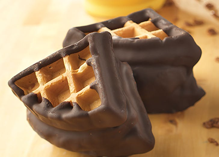aldi cinnamon belgian waffle ice cream sandiwch recipe