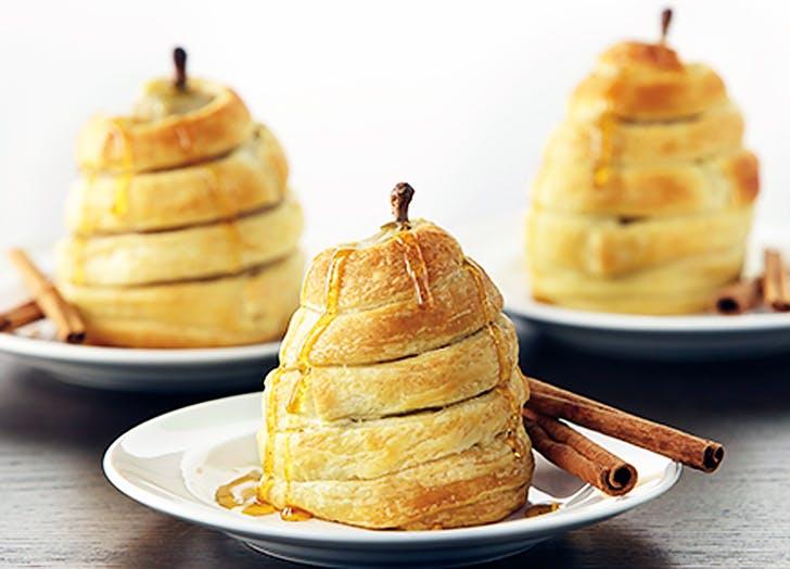 aldi honey wrapped pears recipe