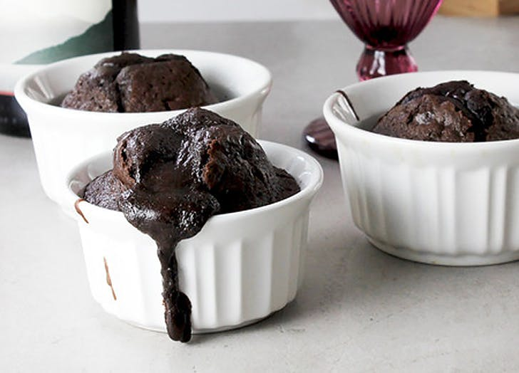aldi red wine molten dark chocolate cake recipe