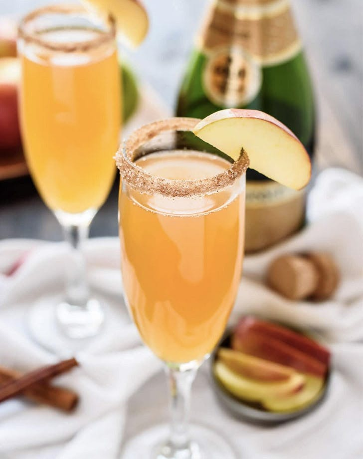 apple cider chmpagne cocktail