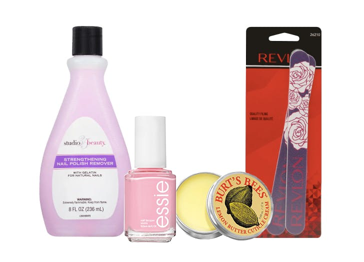 at home manicure set from walgreens
