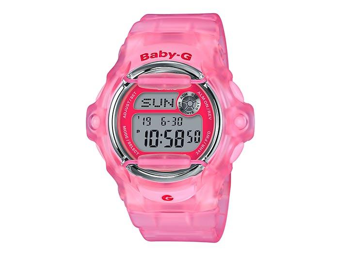 baby g pink g shock watch