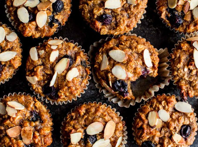 blueberry almond power muffins recipe