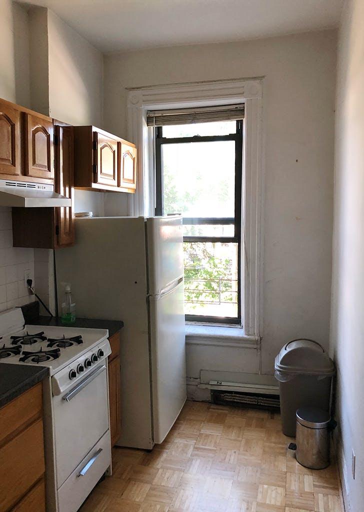 brooklyn farmhouse kitchen before