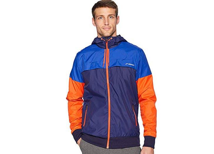 brooks running jacket for men
