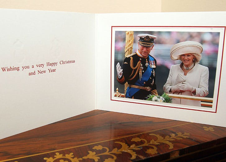 charles and camilla holiday card 2012