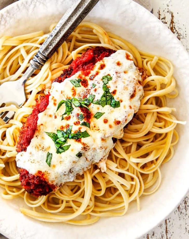 chicken parmesan 5 minute marinara recipe
