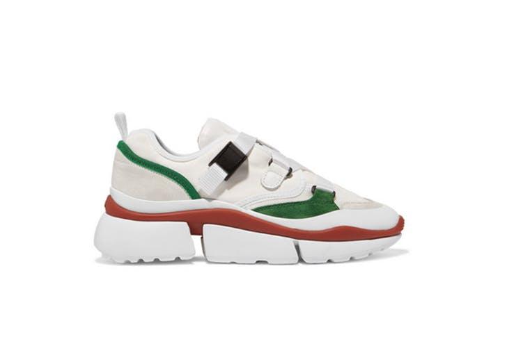 chloe wedge sneakers